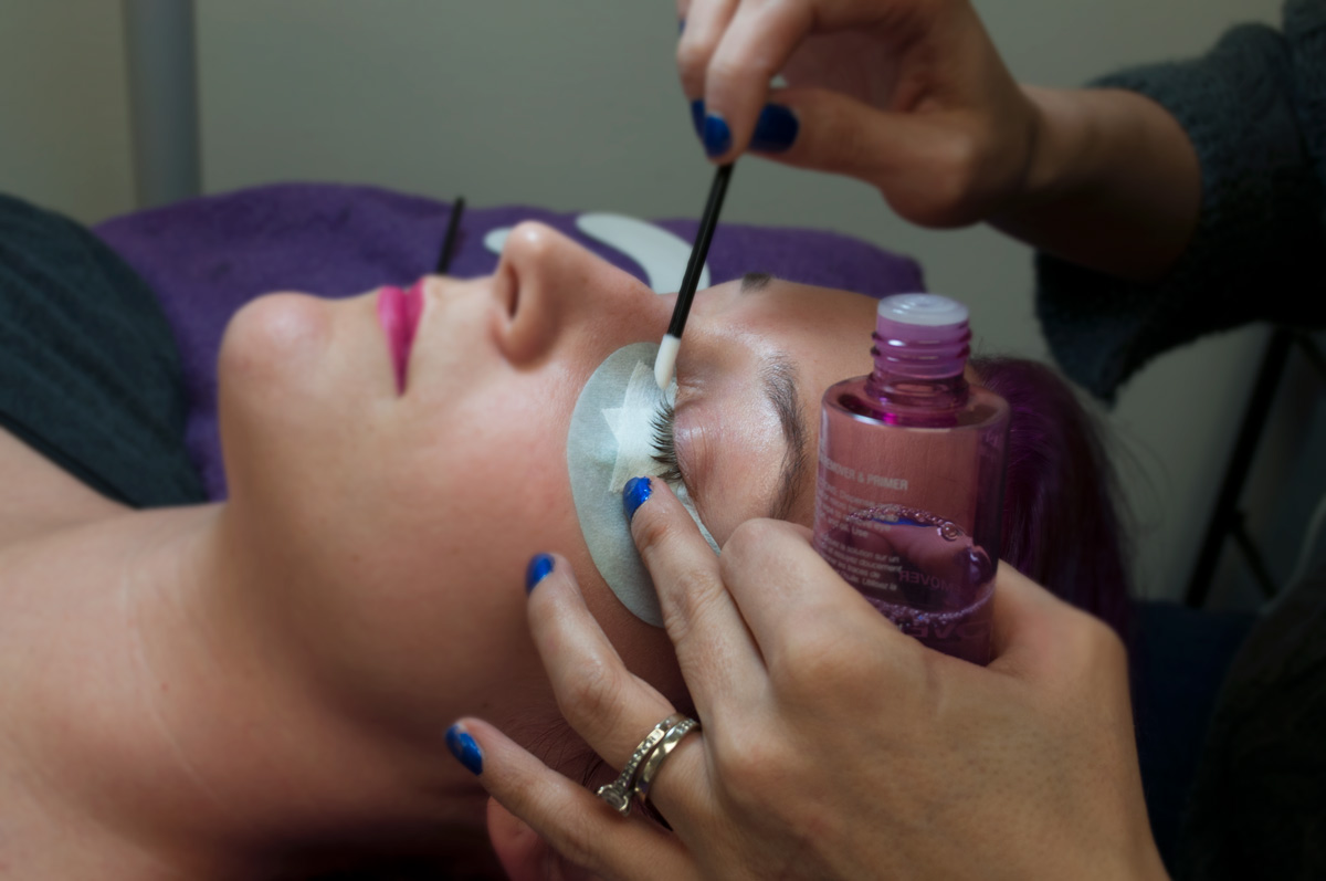 lash extensions in Cleveland at Flawless Lash